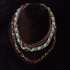 Jewelry - 💙 Teal layered chain necklace 💙